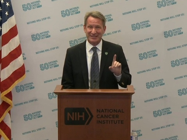 "Sharpless: ARPA-H and NCI should help each other to ""end cancer as we know it"""